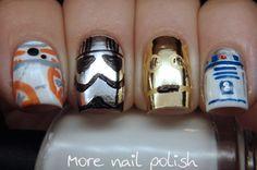 Star Wars nails | More Nail Polish | Bloglovin'