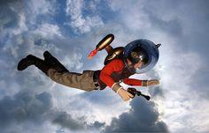 Buck Rogers Jet Pack Flight 4172 by Brechtbug, via Flickr