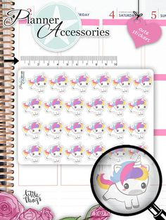 Laundry Stickers Laundry Day Stickers Cleaning Stickers Kawaii Unicorn Stickers Planner Stickers Kawaii Stickers Erin Condren by EmelysPlannerShop Unicorn Stickers, Kawaii Stickers, Cute Stickers, Cute Planner, Happy Planner, Kawaii Planner, Planner Ideas, Filofax, Freebies