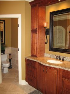 TUSCAN BATH RETREAT, We totally gutted our previous master bath and wanted the bathroom to take on a Tuscan feel like the rest of our home. ...