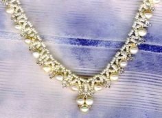 Pattern for necklace Corner - 1