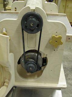 Ron Walter's drum sander