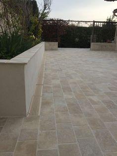 Mosaic Garden Art, Concrete Stairs, Garden Paving, House Landscape, Outdoor Flooring, Balcony Garden, Outdoor Dining, Ibiza, Backyard