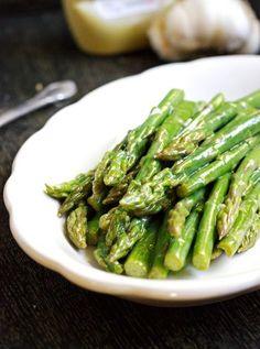 Dijon Maple Asparagus {GF, Low carb, Low Calorie & Low Fat} - Food Faith Fitness