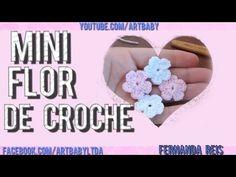 Sapatinho FLORZINHA de crochê - Tamanho 09 cm - Crochet Baby Yara Nascimento Parte 02 - YouTube