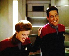 These two were my favorite Star Trek characters. Still love them! Voyager is so under-appreciated.