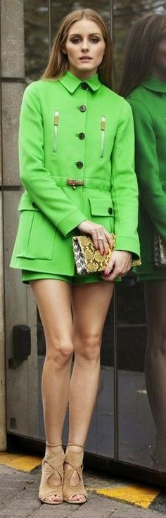 All In Green Outfit Idea by Make Life Easier