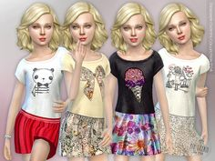Sims 4 updates: tsr - clothing, female : designer outfits collection by Sims 4 Cc Skin, Sims Cc, Sims 4 Toddler, Sims Baby, Sims 4 Children, Sims 4 Cc Shoes, Sims 4 Cc Makeup, Sims4 Clothes, Sims 4 Cc Packs