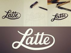 Latte Logo Process
