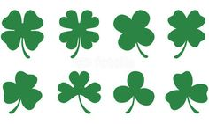 Four and Three Leaf Clovers