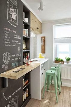 For many people, the small kitchen is an area to share cooking creativity, chat with relative, deal with crafts, or perhaps capture up on some reading. Get layout motivation from these enchanting small kitchen remodel style ideas. Kitchen Design Small, Dining Room Small, Dining Room Design, Small Kitchen, Kitchen Remodel, Kitchen Decor, Interior Design Kitchen, Small Dining, Kitchen Design