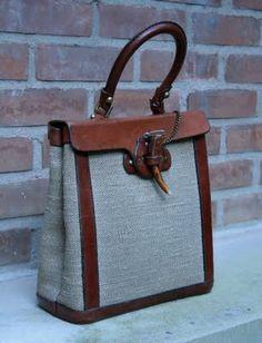 Vintage Etienne Aigner bag: Antiqueaholics