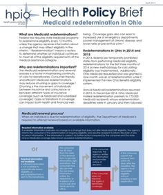 New report from the Health Policy Institute of Ohio offers a closer look at Medicaid redetermination in Ohio.
