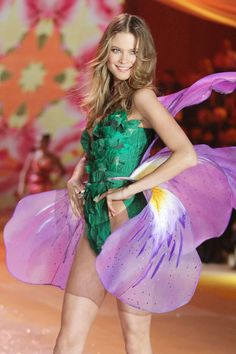 Behati makes one stunning orchid.
