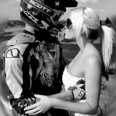 Being a motocross riders girlfriend=most nerve wrecking thing ever!<3