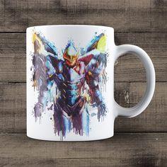 Pharah Overwatch Coffee Mug, Overwatch Game Mug