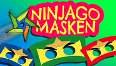 Ninjago Masken