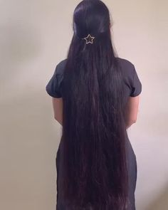 Long Silky Hair, Long Dark Hair, Super Long Hair, Smooth Hair, Black Hair Video, Long Hair Video, Long Ponytail Hairstyles, Indian Hairstyles, Long Hair Wigs