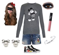 DISNEY TIME!!! by aaliyah-rivera on Polyvore featuring polyvore, fashion, style, Markus Lupfer, Disney, Vans and NARS Cosmetics