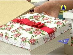 Santa Receita | Caixa para Presente por Paula Lourenço - 11 de Setembro ...