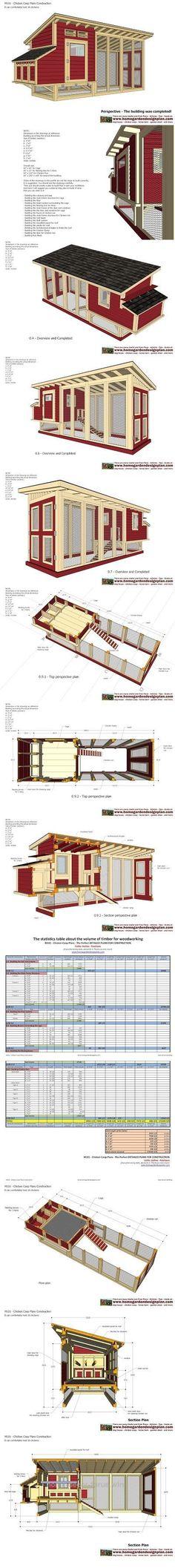 Splendid home garden plans: M101 – Chicken Coop Plans Construction – Chicken Coop Design – How To Build A Chicken Coop The post home garden plans: M101 – Chicken Coop Plans Construction – Chic ..