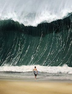 This man died from drowning in the tsunami right after this picture was taken.