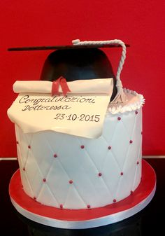 Torta di Laurea - Graduation Cake