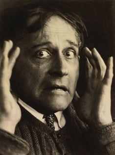 Stanisław Ignacy Witkiewicz, A Madman's Anguish, self-portrait, 1931, courtesy of www.sothebys.com