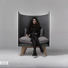lounge chair by design bureau Design Furniture, Home Office Furniture, Chair Design, Cool Furniture, Furniture Stores, Chaise Chair, Deco Design, Design Design, Nighty Night
