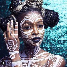 Melanin art. // : @ruthemuoboghare #Blavity