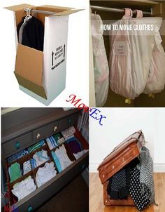 Packing clothes: To make packing more easy, you should have more alternatives for packing ways....