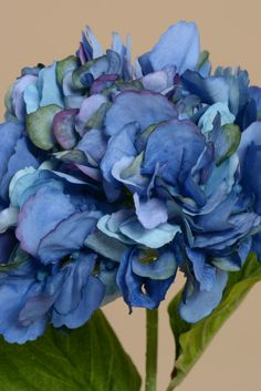 """24"""" HYDRANGEA STEM DARK BLUE - GandGwebStore.com has a wide variety of silk flowers that you can use to decorate any event, party or just your favorite vase."""