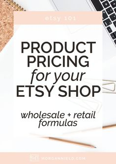 Pricing your products in your Etsy shop can be intimidating-- to say the least. Etsy shop owners tend to under price their products all the time--so let's put a stop to that once and for all! Your items are amazing, and your price should reflect that!
