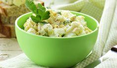 Яйчена салата с лек сос