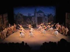 Coppelia-opening and Czardas, Act 3. Elmhurst School for Dance. - YouTube