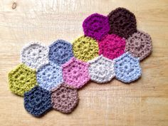 Baby hexagon a day blanket CAL   The Little Room of Rachell
