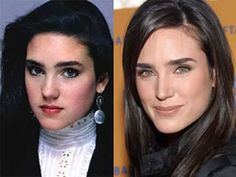 Jennifer Connelly Plastic Surgery Before and After - doesn't look like the same woman!