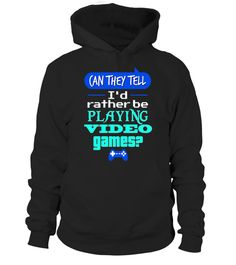 # Funny Gamer T-shirt I'd Rather Be Playing Video Games Shirt .  Special Offer, not available in shops      Comes in a variety of styles and colours      Buy yours now before it is too late!      Secured payment via Visa / Mastercard / Amex / PayPal       http://www.giftideascorner.com/best-gifts-for-gamers/