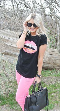 CARA LOREN: Neon Lips & Target Giveaway (closed)