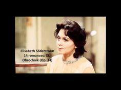 "Elisabeth Söderström: The complete ""14 romances Op. 34"" (Rachmaninov) - YouTube"