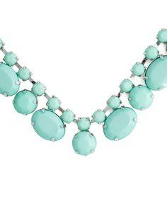 The Mint Jewel Necklace by JewelMint.com, $29.99