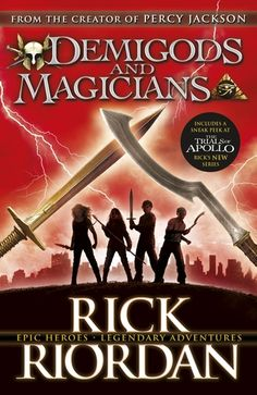 Demigods and Magicians, Percy Jackson and the Kane Chronicles Crossover #1,2,3, Rick Riordan