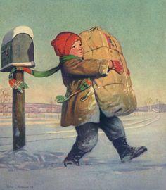 Старинные новогодние открытки. Обсуждение на LiveInternet - Российский Сервис Онлайн-Дневников