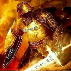 Understand the Lord's meaning of defending yourself in his armor, nothing is ever taken literally it alludes to more powerful messages that relate to the bible within itself, there is power within remember that.