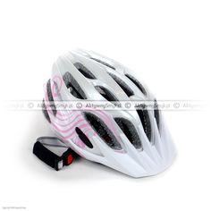 Kask rowerowy dla dziecka Alpina FB Junior 2.0 White-Pink Bicycle Helmet, Pink, Cycling Helmet, Pink Hair, Roses