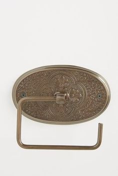 Madras Toilet Paper Holder | Anthropologie
