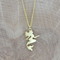 Mermaid Charm Necklace