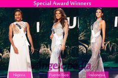 Miss Universe 2014 Special Award Winners