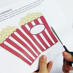 Popcorn Tüte [Digital]   Kino Party   Kindergeburtstag ...