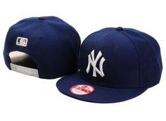 Casquette NY New York Yankees Snapback Marine Casquette New Era Pas Cher
